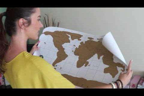 Ralu Calatoreste | Harta razuibila cadou
