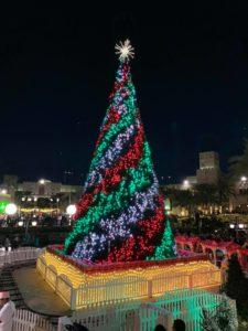 christmas tree dubai souk madinat jumeirah