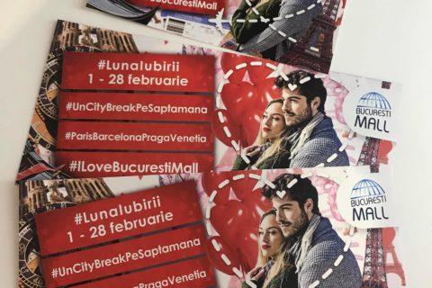 #lunaIubirii la Bucuresti Mall